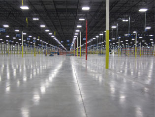 The Glynn Group - Picture of a newly constructed warehouse - clean, spacious and roomy
